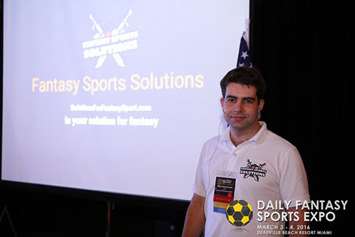 Fantasy Sports Solutions team showcase and speech